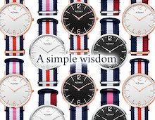4142ac7c9a INTIMES インタイムス 36mm シンプル スリム 腕時計 モダン 大人 かわいい シチズン製ムーブ搭載 メンズ レディース