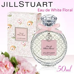 Qoo10カートクーポンご利用で更にお買い得『女子力アップに最適として大人気!』JILL STUART ジル スチュアート リラックス オード ホワイト フローラル 50ml  香水