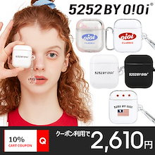 [O!Oi] 最新作 5252 by O!Oi Airpods Case 韓国正規品 オアイオアイ エアーポッズケース  Airpods1/2/pro対応 送料無料