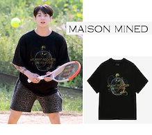 [MAISON MINED] BTS着用 PUNK STORM HALF Tシャツ