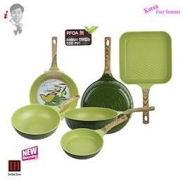 FOUR SEASON new OLIVE GREENWOOD induction Frypan wok