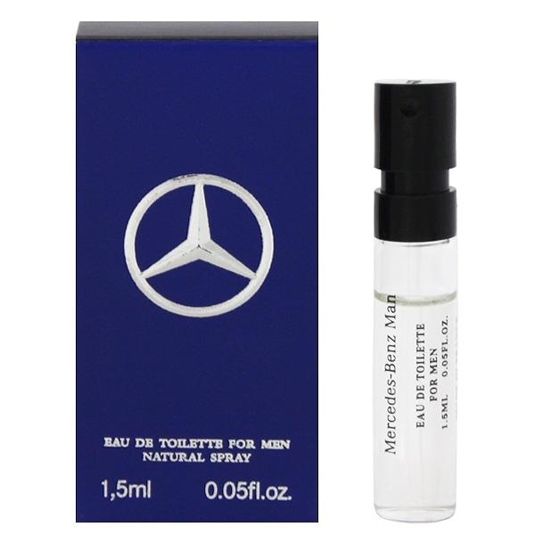 香水 FRAGRANCE MERCEDES BENZ MAN メルセデス ベンツ マン (チューブサンプル) EDT・SP 1.5ml