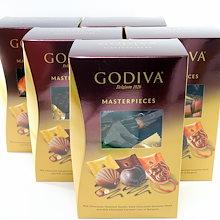 カートクーポン使えます‼♪【送料無料】ゴディバ マスターピース シェアパック 45個入り×5箱セット★高級チョコ『GODIVA』のお買い得パック♪3種のチョコが入っています‼5箱でドーンと225粒♪