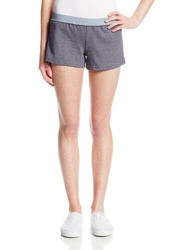 Soffe Juniors New Short, Grey Heather, X-Small