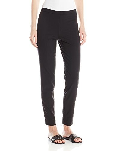 Theory Womens High Waisted Edition Pant, Black, 8