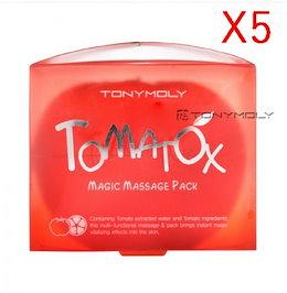 [トニーモリ]トマトモンスターマジックマッサージパック80g - 5個 / [TONYMOLY] Tomatox Magic Massage Pack 80g - 5pcs / 韓国コスメ / コスメ
