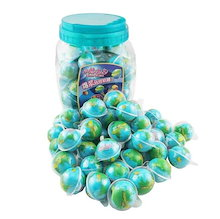 PLANET GUMMI Jelly  POP EYE Jelly SPACE Jellyグミ50個 目玉グミ 地球グミ ASMR お菓子 韓国グミ 50個  可愛いDIYシール1枚を付け!