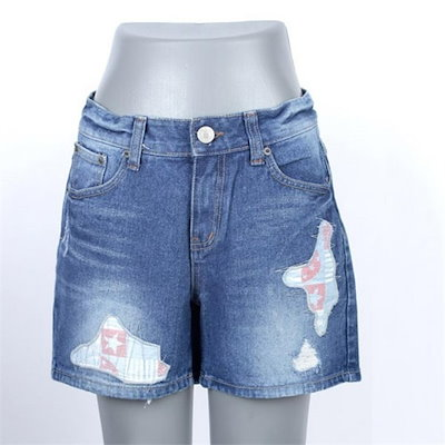 ネオクビカビックサイズ救済パッチのデニム3部・パンツIR018 new パンツ/レババッジ/韓国ファッション