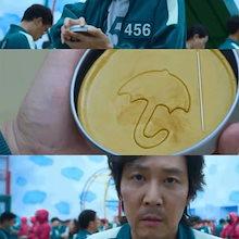 イカゲーム 砂糖菓子の型抜き 製菓道具 タルゴナ型 セット 韓国ドラマ ダルゴナセット カルメ焼