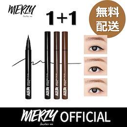 【MERZY】1+1 THE FIRST PEN EYELINER / マジ落ちない❗️最強アイライナー / コスパ最高 / 韓国コスメ / アイライナー / アイメイク