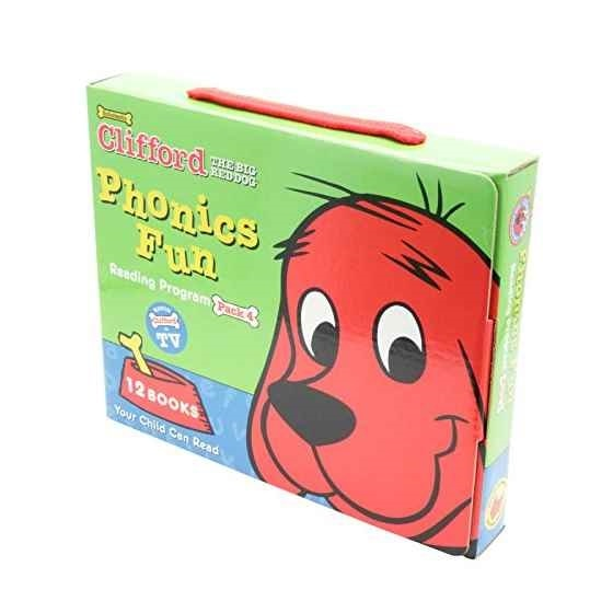 Scholastic ScholasticScholastic Clifford the Big Red Dog Phonics Fun Reading Program Pack 4 (12 Books) クリフォードフ