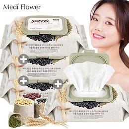 【Medi Flower】(1+1+1+1)グラノーラクレンジングティッシュ 100枚