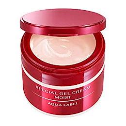 AQUALABEL(アクアレーベル) スペシャルジェルクリームN (モイスト) オールインワン ハーバルローズの優しい香り 90g