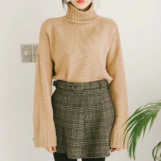 素敵エプリコッKNIT ニット/セーター/タートルネック/ポーラーニット/韓国ファッション