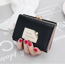 a7a1377fb7ba 韓国ファッション 二つ折り財布 超軽い財布 薄い財布 財布 レディース 二つ折り 財布 小銭
