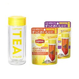 入れっぱOK!マイボトル用紅茶 キープ&チャージ 選べる 2種 タンブラー セット