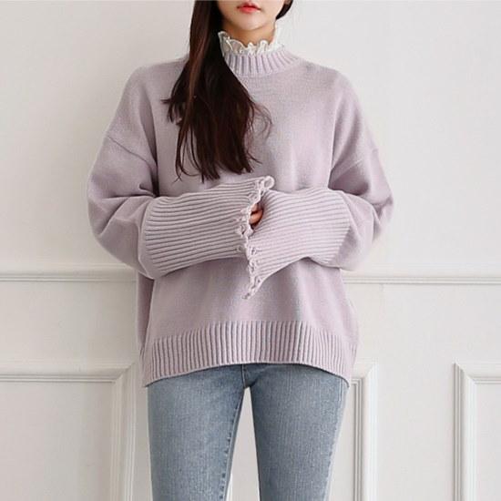 イニクアンバービンテージKNITニート ニット/セーター/ニット/韓国ファッション