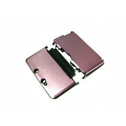 3DS保護プラスチックxアルミニウム収納ケースカバー[新品]薄桃