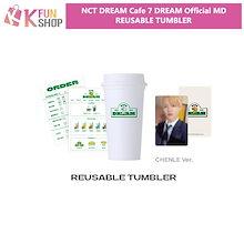【2次】NCT DREAM REUSABLE TUMBLER【Cafe 7 DREAM OFFICIAL MD】【キャンセル不可】【送料無料】【公式グッズ】エヌシーティードリーム