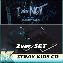 STRAY KIDS / I AM NOT / STRAY KIDS 1ST MINI ALBUM / 2種類セッ ト/ CD+フォトブック+フォトカード / ストレイキッズ