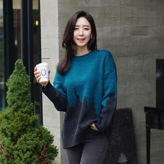 ココアベニューココアベニューハイニトゥタプ61203 ニット/セーター/ニット/韓国ファッション