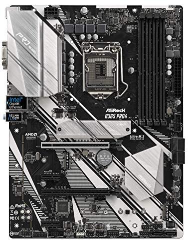 ASRock Intel 第8世代&第9世代 CPU(Soket 1151)対応 B365 チップセット搭載 ATX マザーボード B365 Pro4