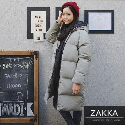【送料無料】【即納】  ZAKKA 韓国ファッション ダウンコート 人気 新型 レディース服 ダウンジャケット ロングコート 韓国 コート レディースファッション ダウンコート レディース コート レディース