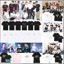 韓国SEVENTEEN 2018 JAPAN ARENA SVT コンサート週辺 トップス 韓国ファッション Seventeen周辺 応援グッズ 今日もっと多いデザインに参加します