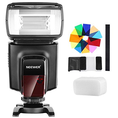 Neewer TT560フラッシュスピードライトと12枚カラーフィルターキット Canon Nikon Panasonic Olympusと他のDSLRカメラに対応