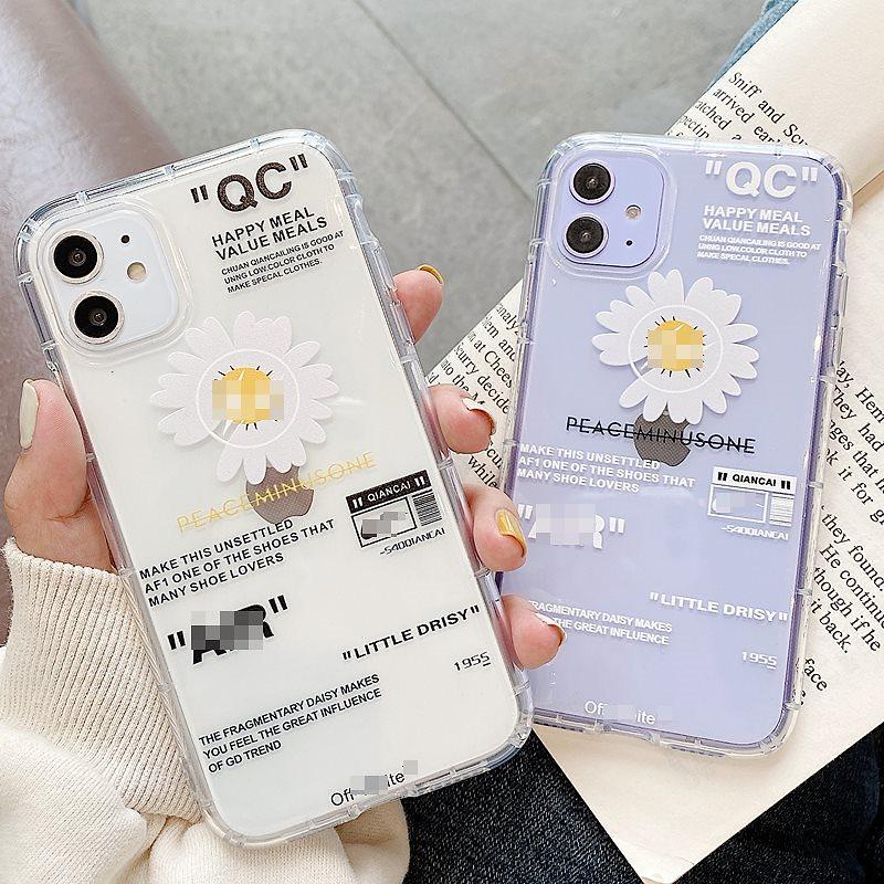 G-DRAGON iPhone11ケース 韓国ファッションヒナギク 透明ケースiPhone11 proケース iPhoneケース iphonexrケース iphoneXsケース iphone8ケース