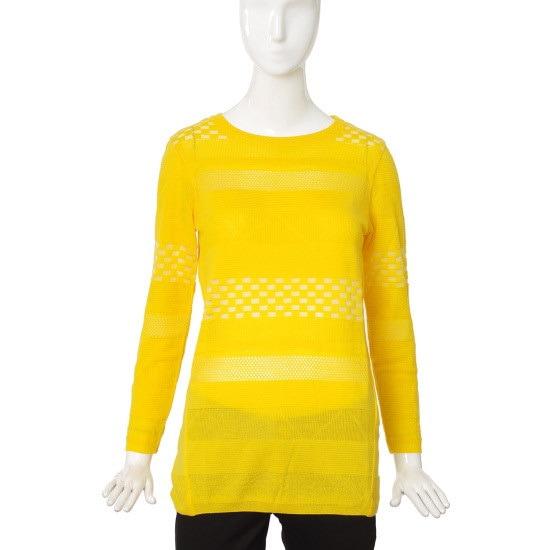 バレンシア女性衣類組織パターンポイントニットV54MK58 パターンニット/ニット/セーター/韓国ファッション