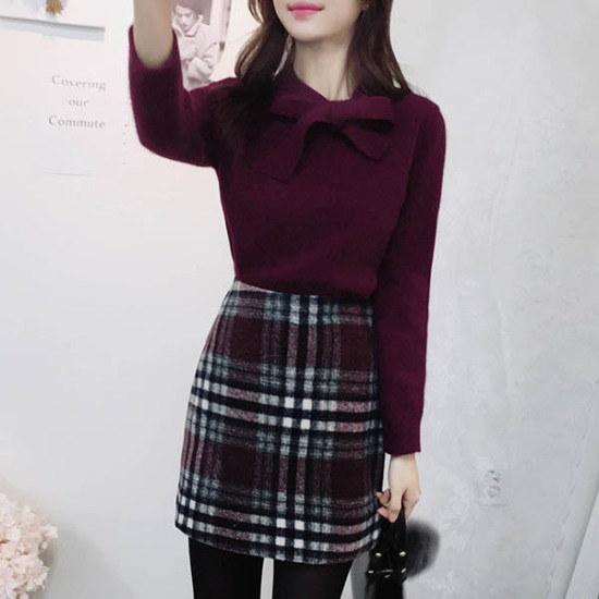 フィオナ、暖かい感じknitm5702ニート ニット/セーター/ニット/韓国ファッション