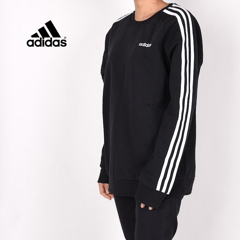 アディダス adidas レディース トレーナー カジュアル ウエア トップス スポーツウェア W ESSENTIALS BF クルーネックスウェット FN5782 黒