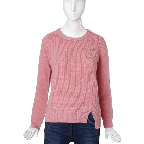 バレンシア女性衣類アンバランスポイントショットプルオーバーV51MK65 ニット/セーター/韓国ファッション