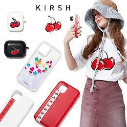 [KIRSH] 公式 ☆割引クーポン☆ 21SS BIG CHERRY IPHONE CASE JA / CHERRY KEYRING AIRPODS CASE JA 送料無料