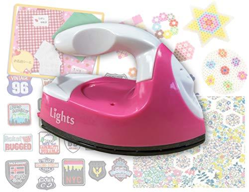 Lights ミニアイロン LT-IR1A パッチワーク 手芸 アイロンビーズ 旅行用 携帯