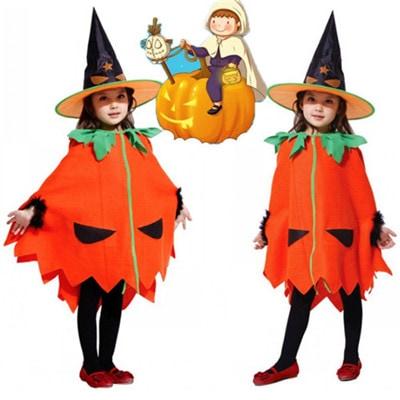 882a1a752f531d ハロウィン衣装 かぼちゃ マント 帽子付き ベビー 女の子 男の子 子供用 仮装 ハロウィーン 幼稚園 キッズ コスプレ