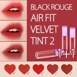 ◈BLACKROUGE◈ 新発売 1+1 Airfit Velvet Tint 2 エアフィット ベルベット ティント 赤の定番