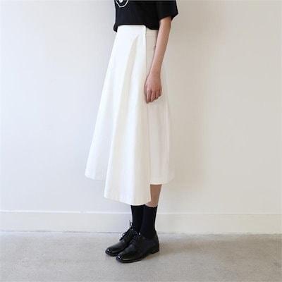 [送料無料]Wrap around long skirtラップラウンドゥロンスカート 女性のスカート/ロングスカート/韓国ファッション