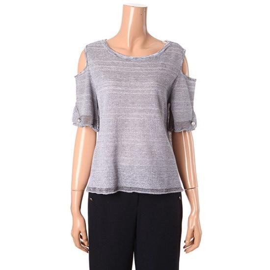 ナイスクルラプ晋州ポイントニートN172KSK024 ニット/セーター/韓国ファッション