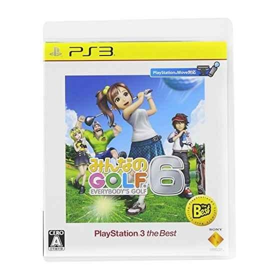 みんなのGOLF 6 [PlayStation 3 the Best]