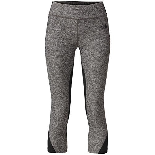 The North Face Dynamix Legging - Womens TNF Black Heather/TNF Black X-Large