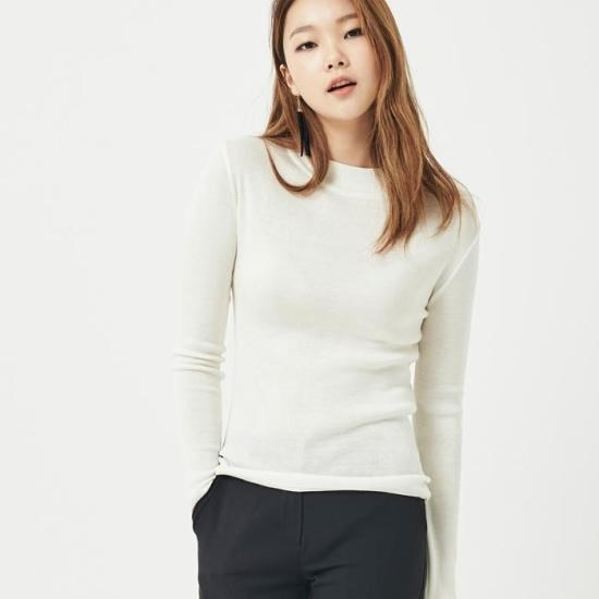 ナインNAINペイモダンシンプルニートT2672 ニット/セーター/韓国ファッション