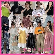 2枚送料無料2020夏韓国ファッション /セットアップ / 2点セット / シンプルで合わせやすい!カジュアルな上下セット/
