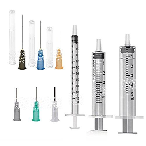 [koneko] 注射器インジェクター 9本組 (並行輸入品)
