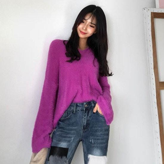 キュニゴルスキュニゴルス星明かり風ニットティー ニット/セーター/ニット/韓国ファッション