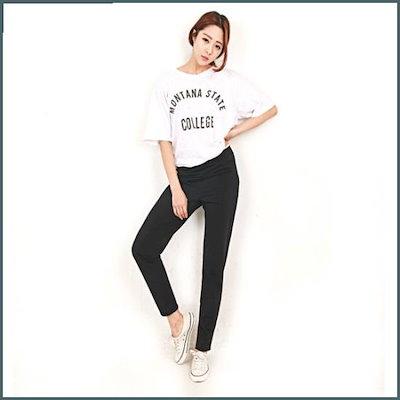 [Hスタイル](GD)アイスズボン/ビッグサイズ/女性バンドスキニー/女性ジーンズ /パンツ/デンパンツ/韓国ファッション