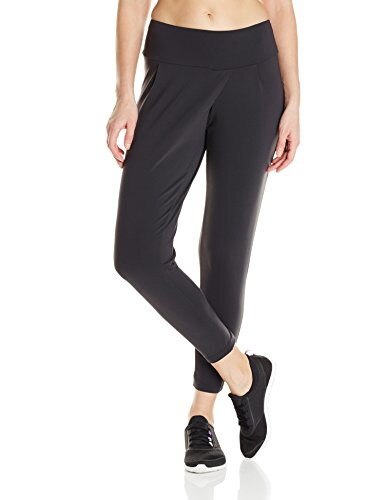 Lucy Womens Mat and Move Capri, Lucy Black, Large