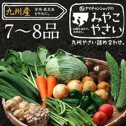 【送料無料】九州野菜ミニミニお試し詰め合わせセット★九州の美味しい野菜をタマチャンショップが選りすぐりで7~8品詰めてお届け!