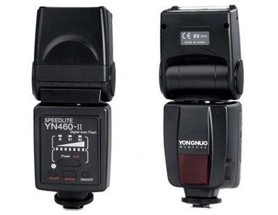 カメラ用永諾YN460-IIユニバーサルスピードライト(ブラック)
